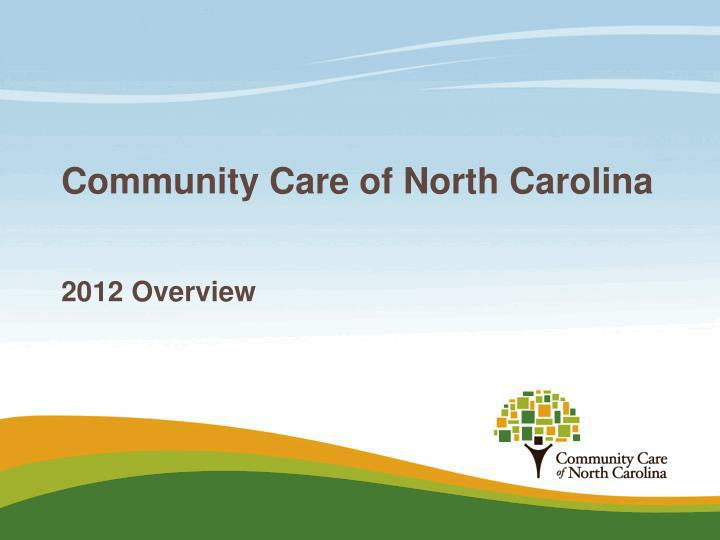community care of north carolina n.