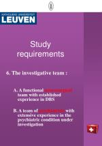 study requirements5