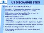 us discharge stds