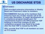 us discharge stds10