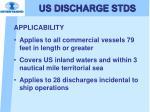 us discharge stds3