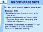 us discharge stds6