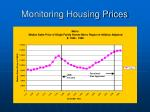 monitoring housing prices