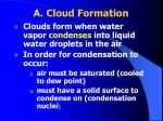 a cloud formation