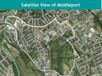 satellite view of middleport