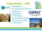 talentweken lob1
