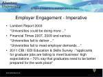 employer engagement imperative