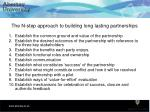 the n step approach to building long lasting partnerships