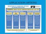 application options1