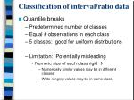 classification of interval ratio data2