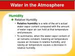water in the atmosphere4