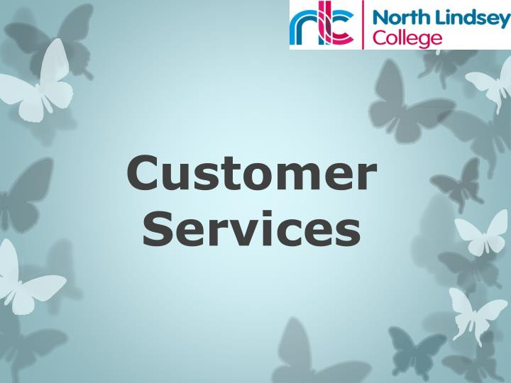 customer services n.