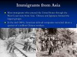 immigrants from asia