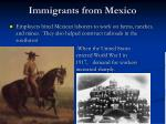 immigrants from mexico