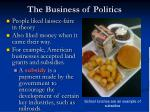 the business of politics2