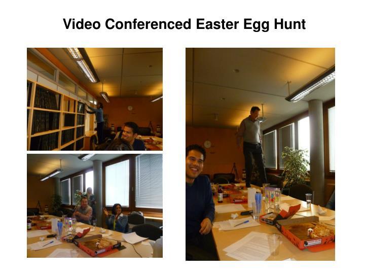 Video Conferenced Easter Egg Hunt