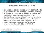pronunciamiento del ccpa1