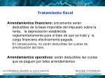 tratamiento fiscal