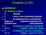disabilit in off1