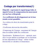 codage par transform es 1