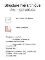 structure hi rarchique des macroblocs