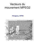 vecteurs du mouvement mpeg2