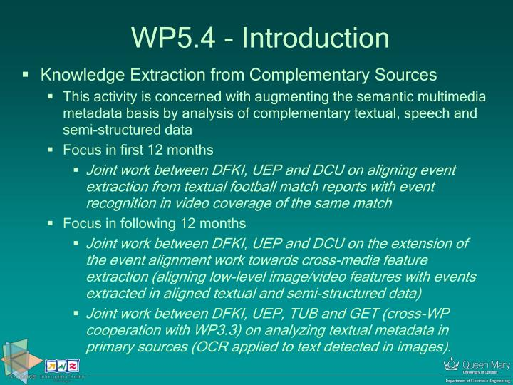 w p 5 4 introduction n.