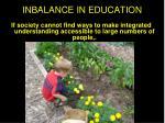 inbalance in education2