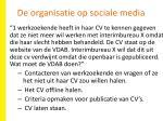 de organisatie op sociale media1