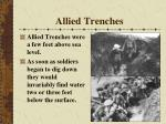 allied trenches