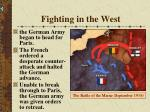 fighting in the west