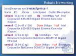 rebuild networking9