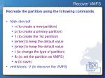 recover vmfs9