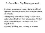 5 good eco dip management