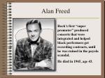 alan freed