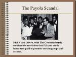 the payola scandal