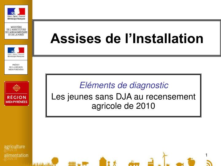 assises de l installation n.