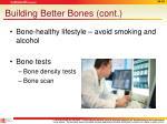 building better bones cont