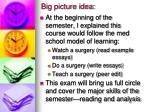 big picture idea