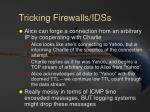tricking firewalls idss