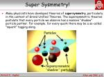super sysmmetry
