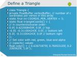 define a triangle1