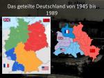 das geteilte deutschland von 1945 bis 1989
