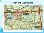 frisian and dutch names