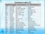 gazetteercodes 2