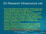 eu research infrastructure call