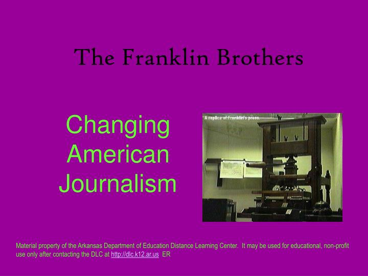 the franklin brothers n.