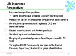 life insurance perspectives
