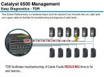 catalyst 6500 management easy diagnostics tdr