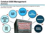 catalyst 6500 management summary